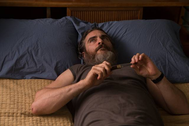 A Beautiful Day - You Were Never Really Here Joaquin Phoenix foto dal film 16