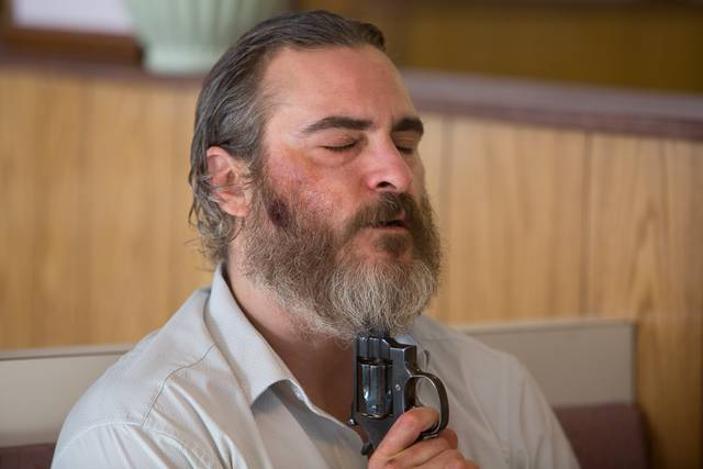 A Beautiful Day - You Were Never Really Here Joaquin Phoenix foto dal film 1