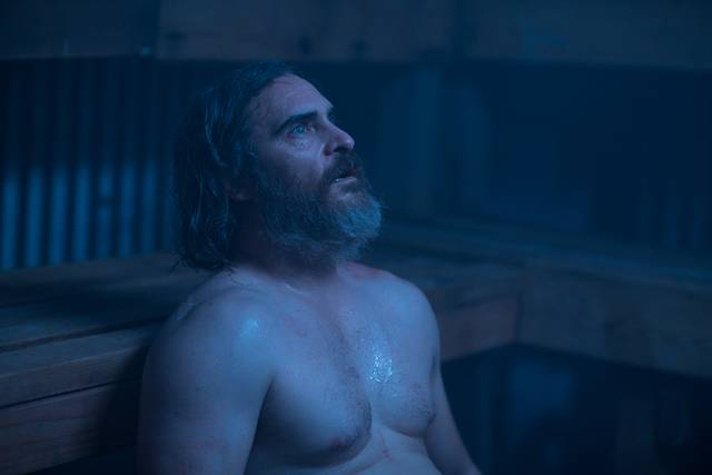 A Beautiful Day - You Were Never Really Here Joaquin Phoenix foto dal film 7