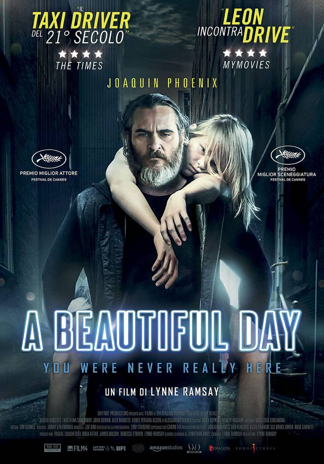 A Beautiful Day - You Were Never Really Here Poster Italia