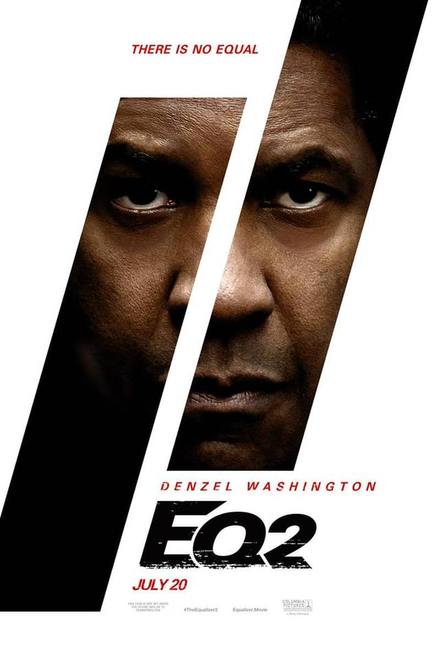 The Equalizer 2 Teaser Poster USA 01