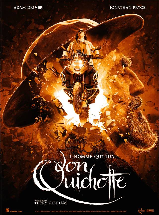 Il primo poster di The Man Who Killed Don Quixote