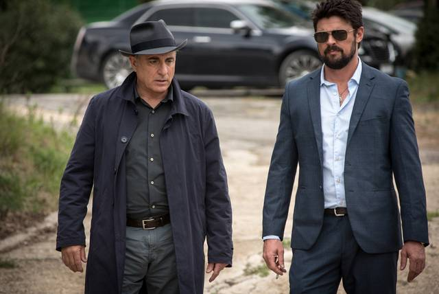 Bent Andy Garcia Karl Urban foto dal film 3
