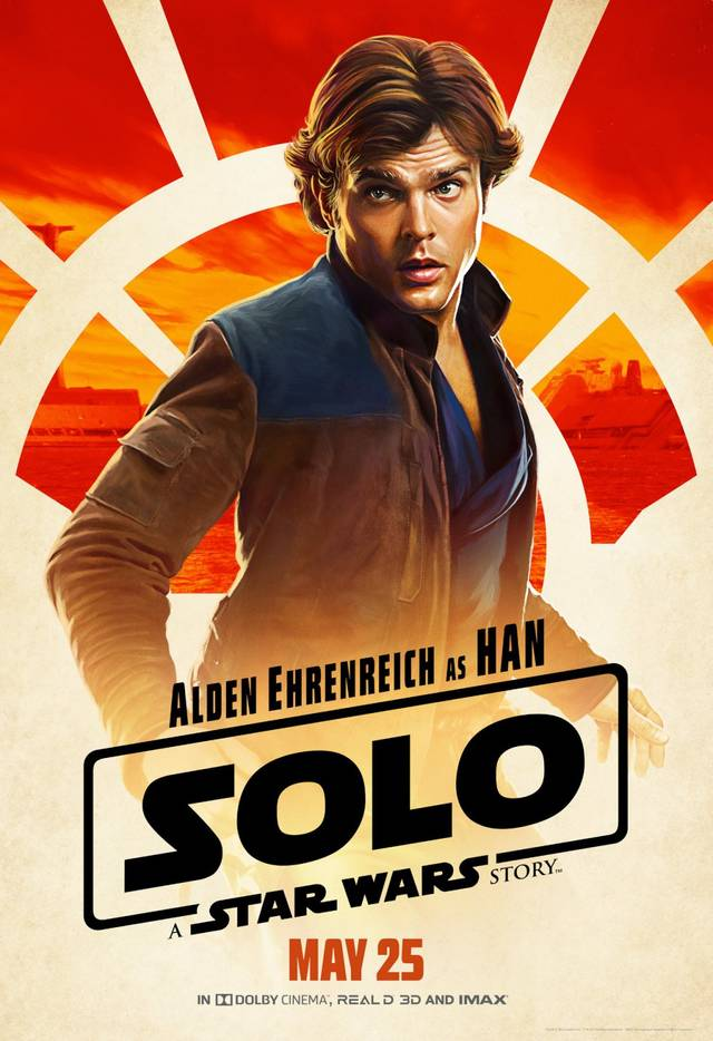 Solo - A Star Wars Story Teaser Artwork Character Poster USA 1