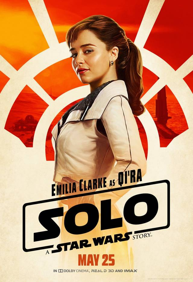 Solo - A Star Wars Story Teaser Artwork Character Poster USA 2