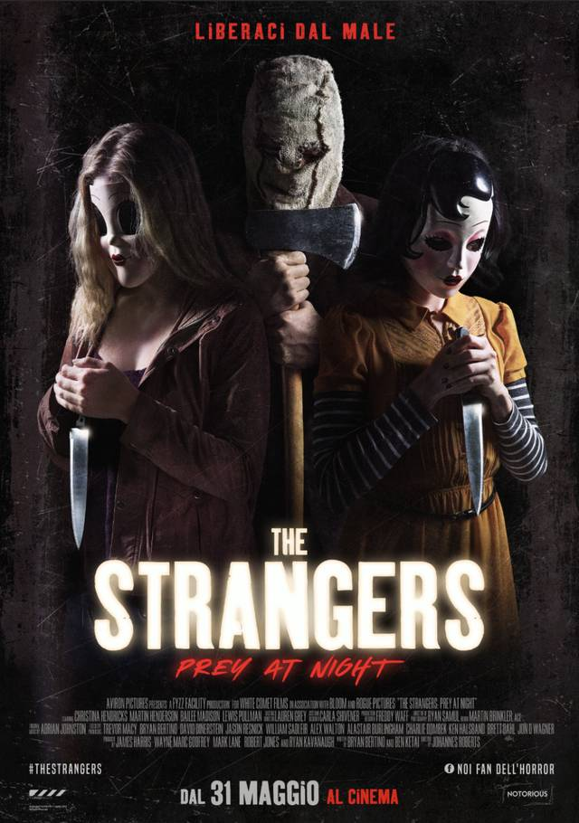 The Strangers - Prey at Night Poster Italia