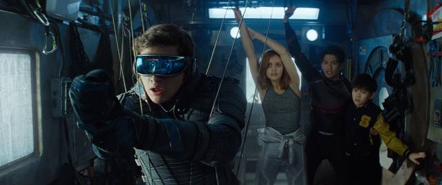 Ready Player One_Tye Sheridan Olivia Cooke Win Morisaki Philip Zhao_foto dal film 5