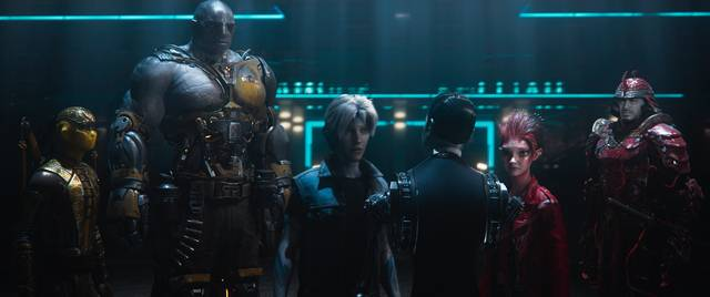Ready Player One_Tye Sheridan Olivia Cooke_foto dal film 6