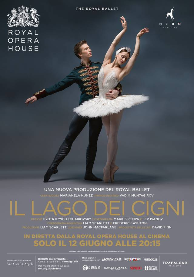 The Royal Opera - Il Lago dei Cigni Poster Italia