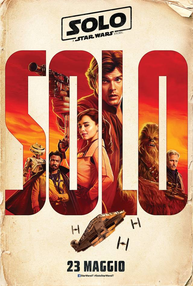 Solo A Star Wars Story Teaser Poster Italia