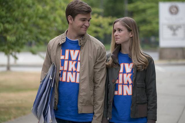 The Miracle Season Burkely Duffield Erin Moriarty foto dal film 2