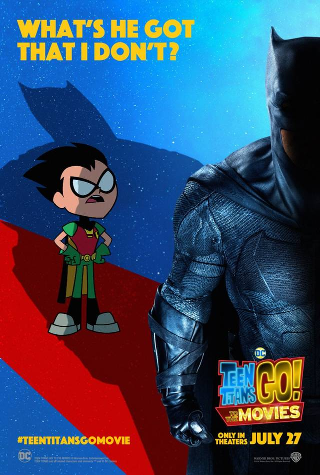 Teen Titans GO! Il film Teaser Character Poster USA 1