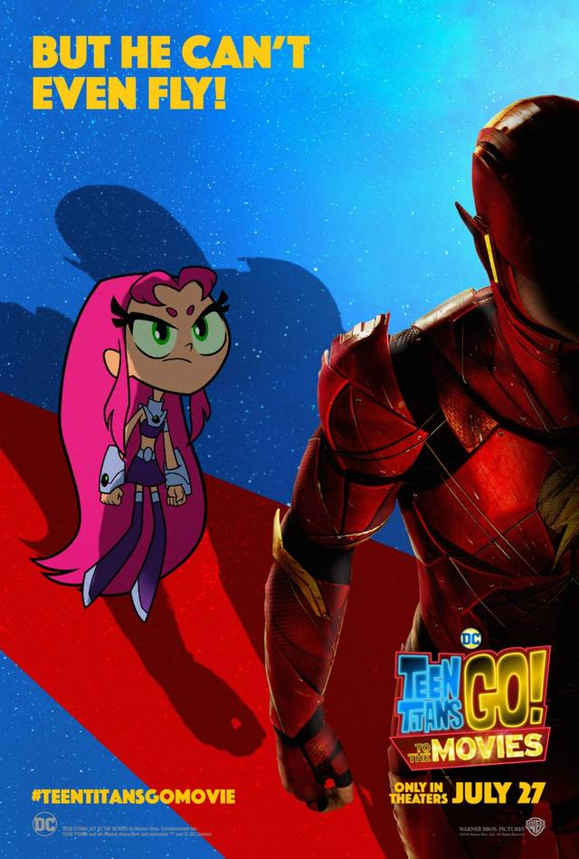 Teen Titans GO! Il film Teaser Character Poster USA 2