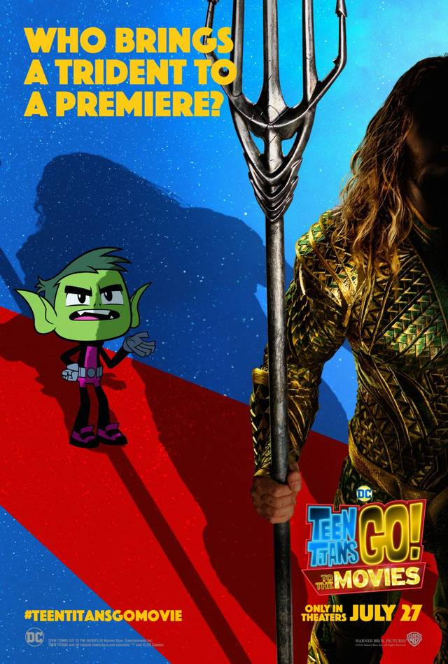Teen Titans GO! Il film Teaser Character Poster USA 4