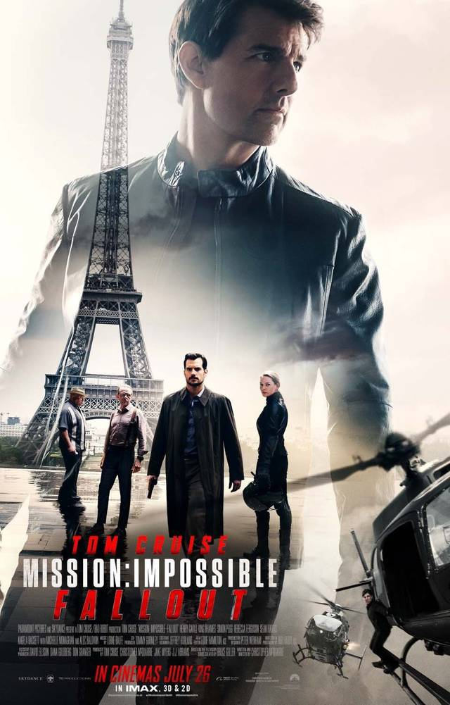 Mission Impossible - Fallout Poster USA 2