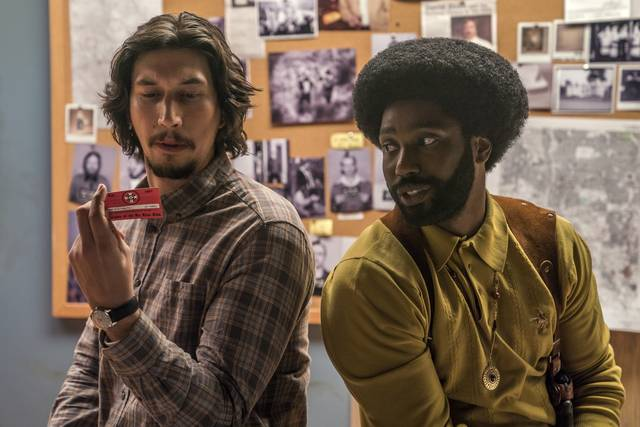 BlacKkKlansman_John David Washington Adam Driver_foto dal film 2