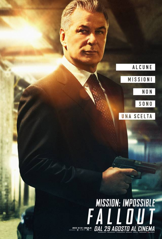Mission - Impossible Fallout Teaser Character Poster Italia 1