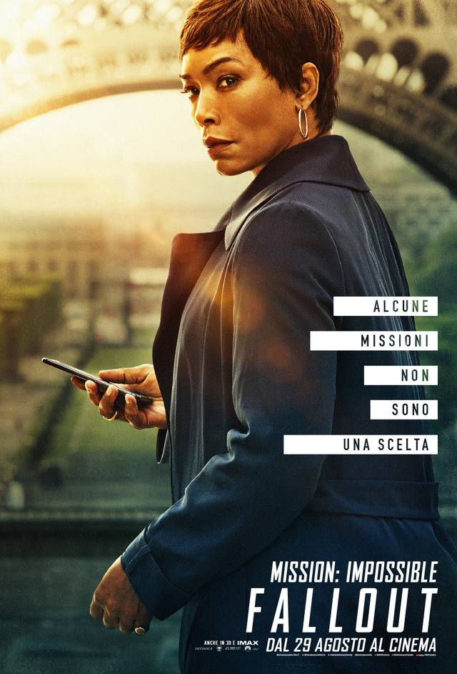 Mission - Impossible Fallout Teaser Character Poster Italia 2