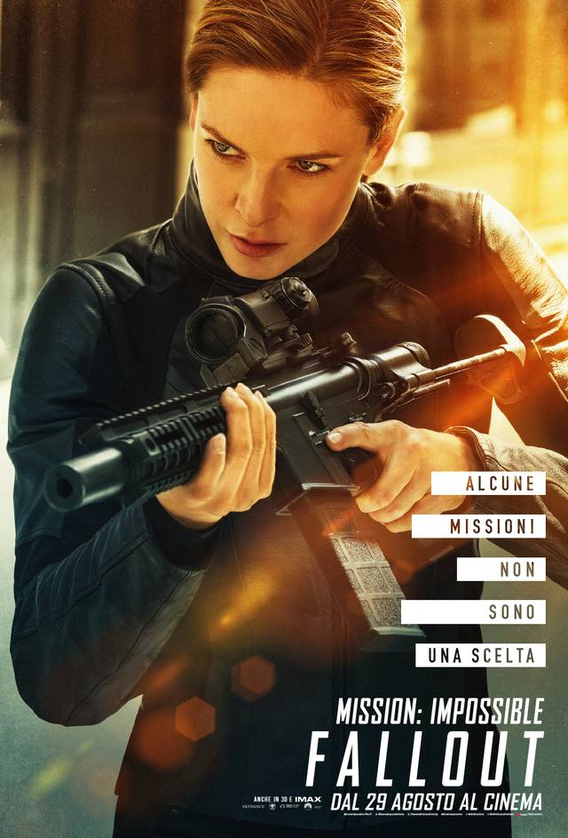 Mission - Impossible Fallout Teaser Character Poster Italia 4