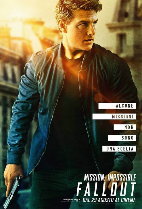 Mission Impossible Fallout Teaser Poster Italia