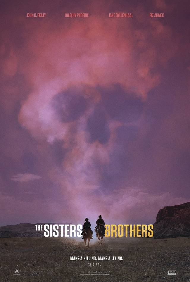 The Sisters Brothers Teaser Poster USA