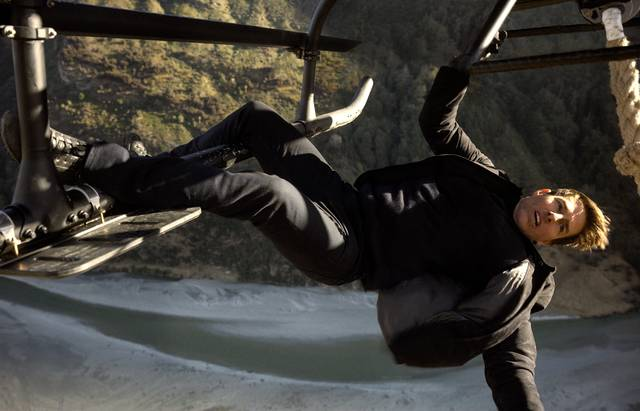 Mission Impossible - Fallout Tom Cruise foto dal film 9