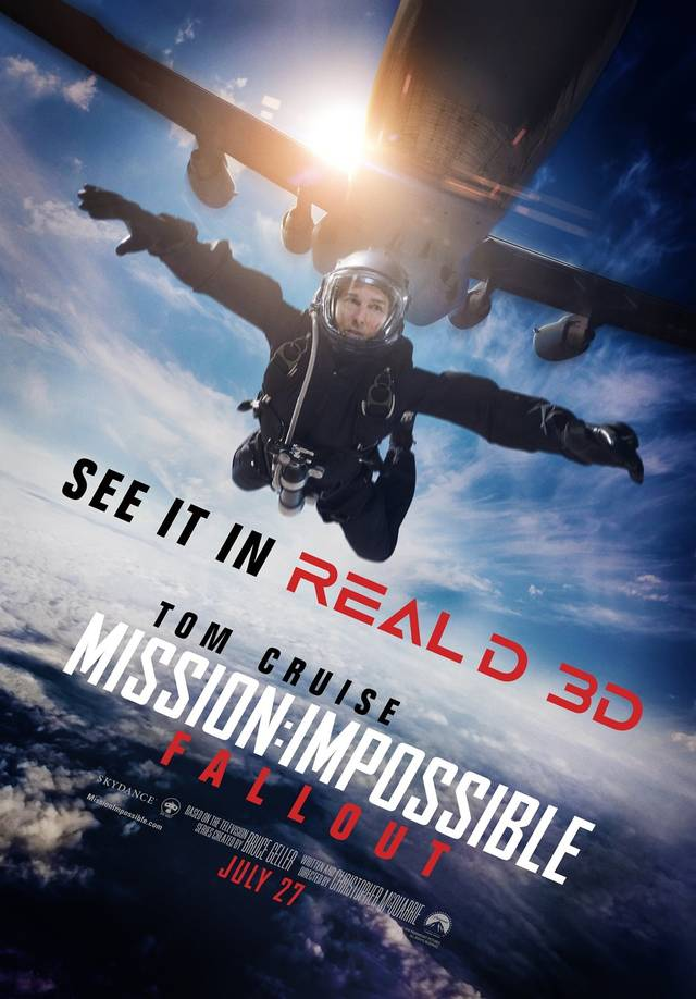 Mission Impossible Fallout Teaser Poster USA 2