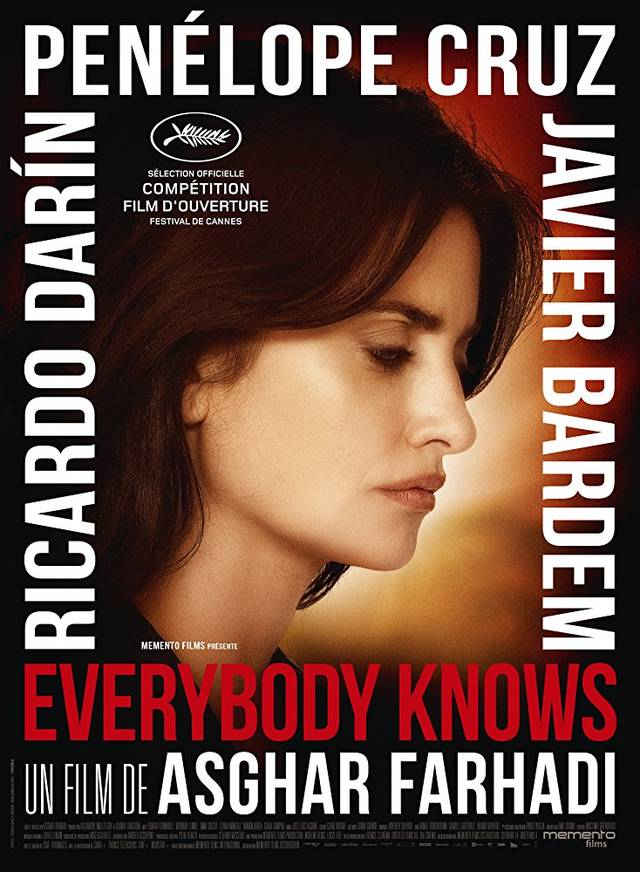 Everybody Knows Teaser Character Poster Francia 1