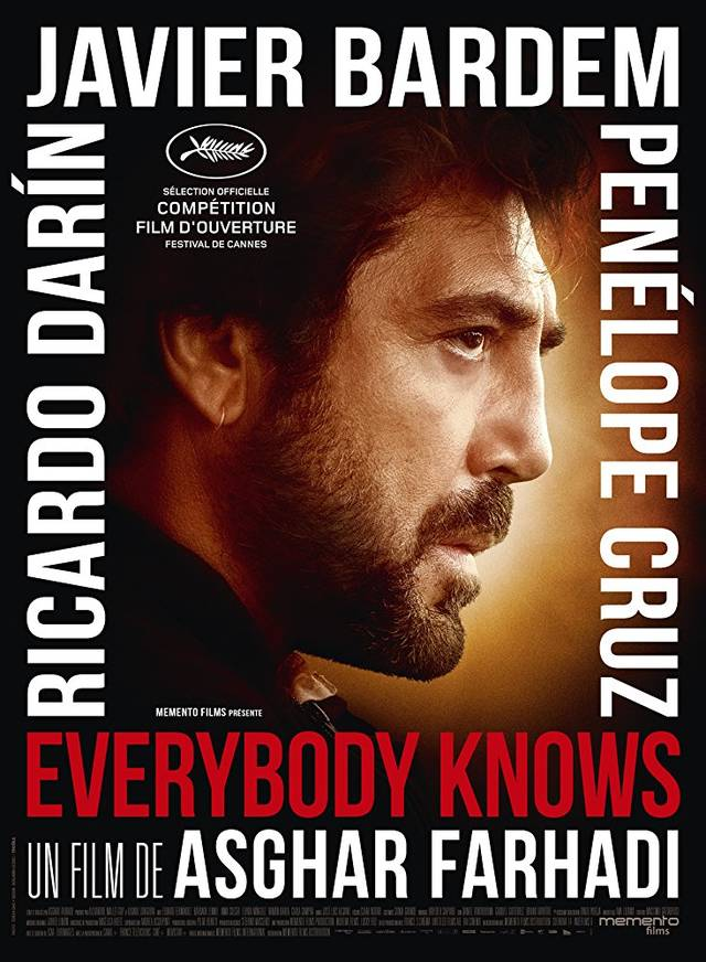Everybody Knows Teaser Character Poster Francia 2