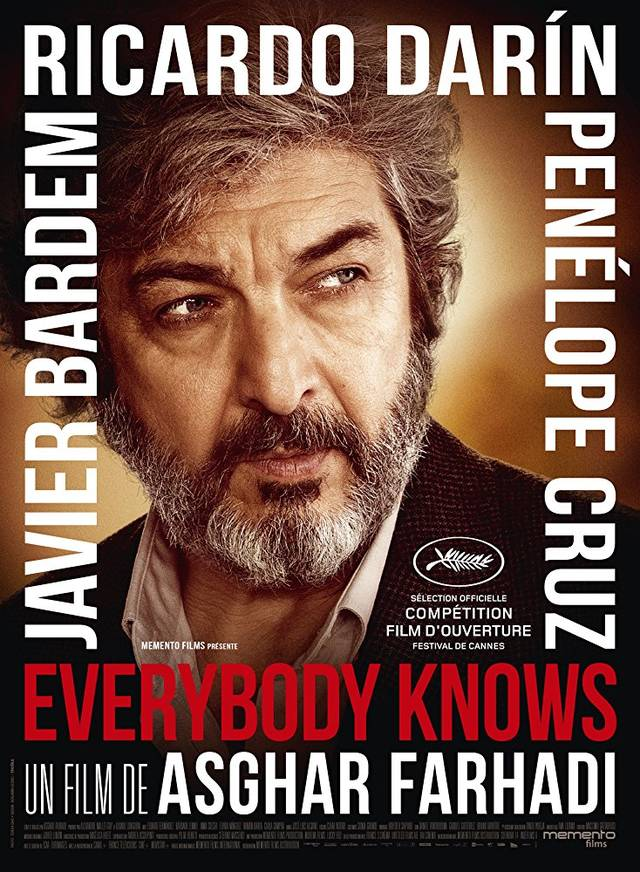Everybody Knows Teaser Character Poster Francia 3