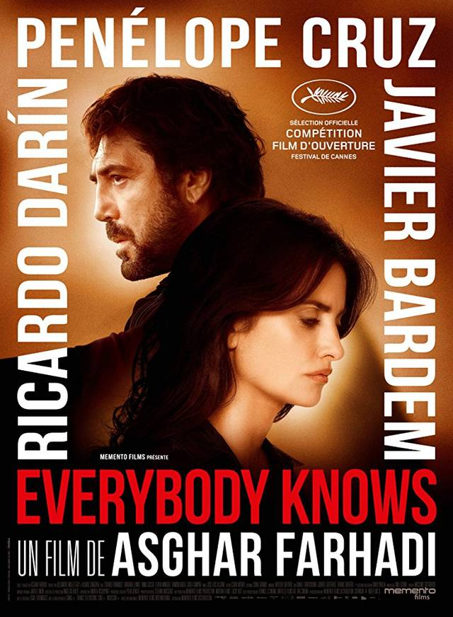 Everybody Knows Teaser Poster Francia