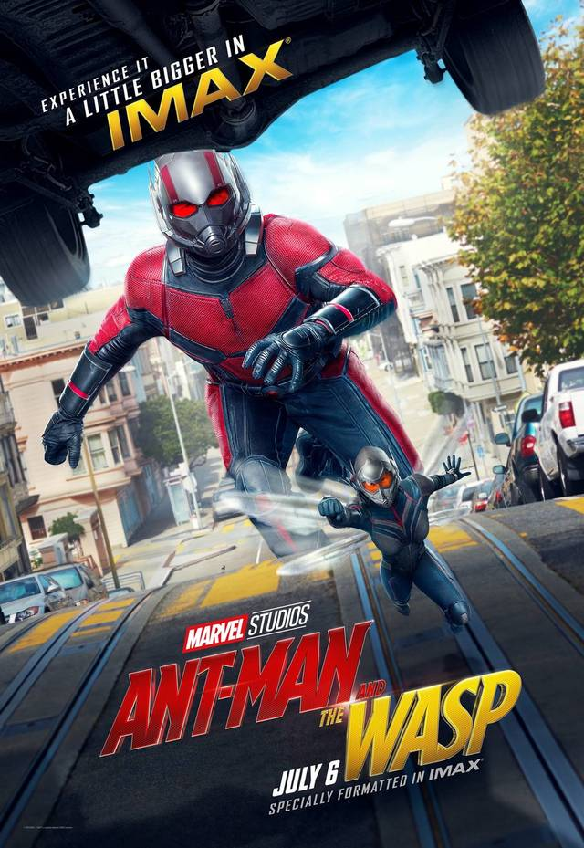 Ant-Man and the Wasp Teaser IMAX Poster USA