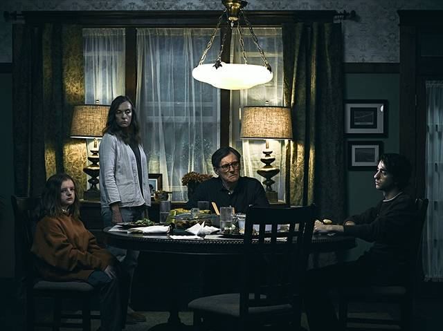 Hereditary Gabriel Byrne Toni Collette Alex Wolff Milly Shapiro foto dal film 1