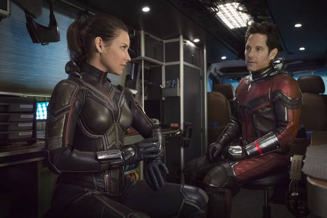 Ant-Man and the Wasp_Paul Rudd Evangeline Lilly_foto dal film 2