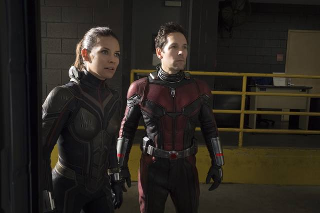 Ant-Man and the Wasp_Paul Rudd Evangeline Lilly_foto dal film 3