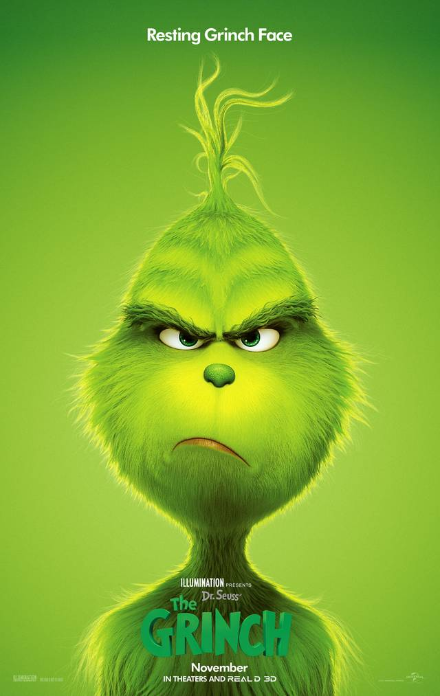 Il Grinch Teaser Poster USA 3