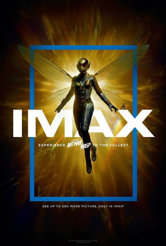 Ant-Man and the Wasp Teaser Poster IMAX USA
