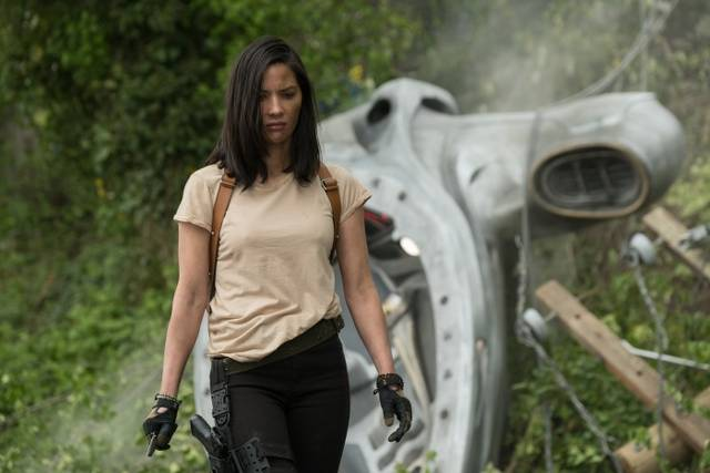 The Predator Olivia Munn foto dal film 2