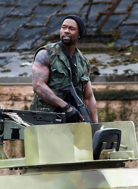 The Predator Trevante Rhodes foto dal film 1