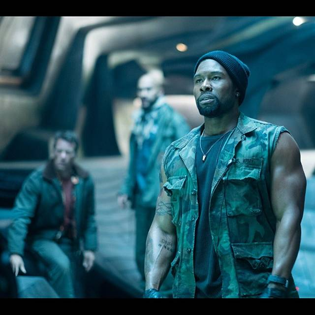 The Predator Trevante Rhodes foto dal film 2