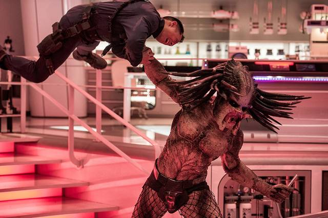 The Predator foto dal film 2