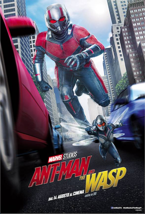 Ant-Man and the Wasp Teaser Poster Italia