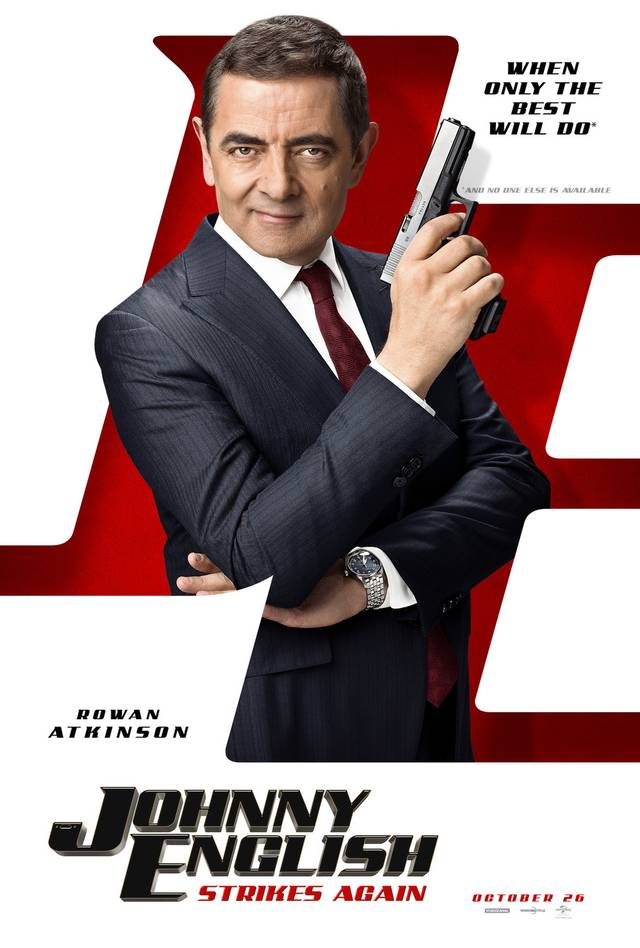Johnny English Colpisce Ancora Teaser Poster USA