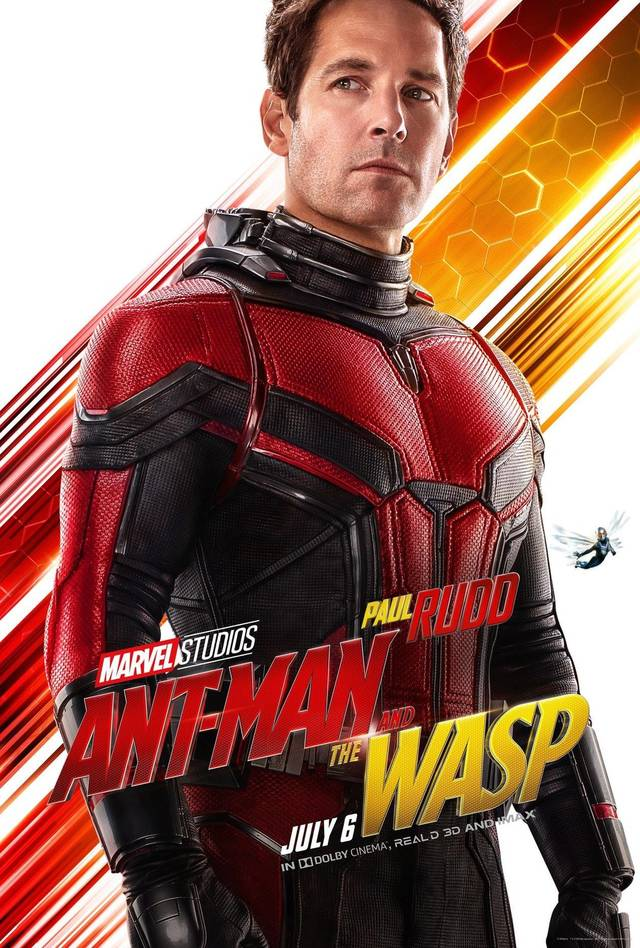 Ant-Man and the Wasp Teaser Character Poster USA 1