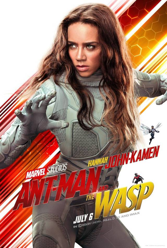 Ant-Man and the Wasp Teaser Character Poster USA 2