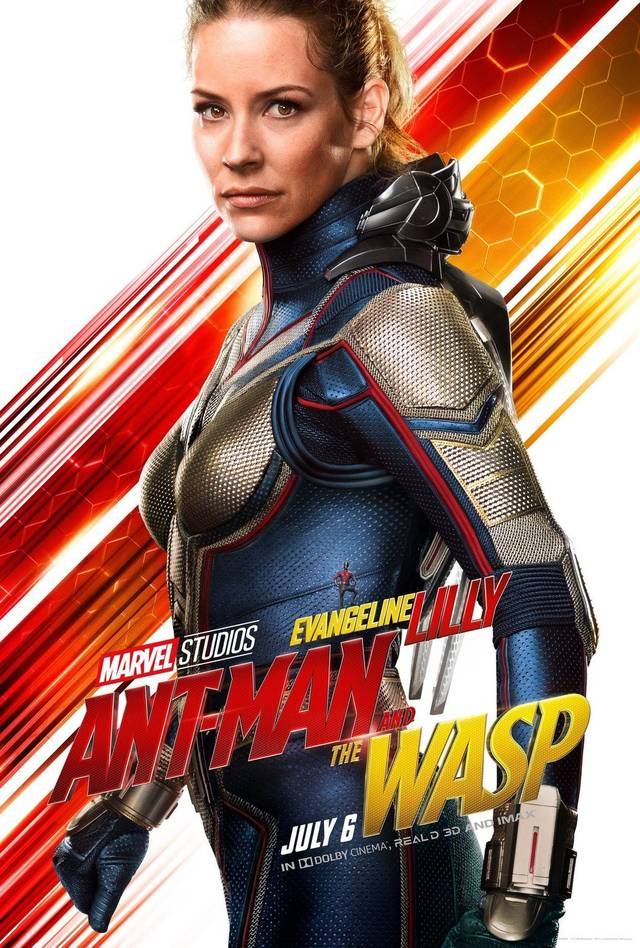 Ant-Man and the Wasp Teaser Character Poster USA 3