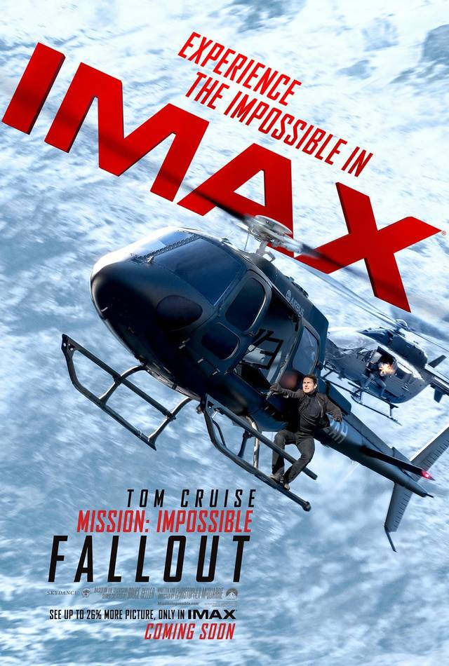 Mission Impossible Fallout IMAX Teaser Poster USA