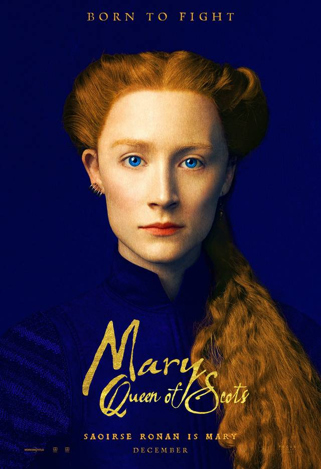 Mary Queen of Scots Teaser Character Poster UK 1
