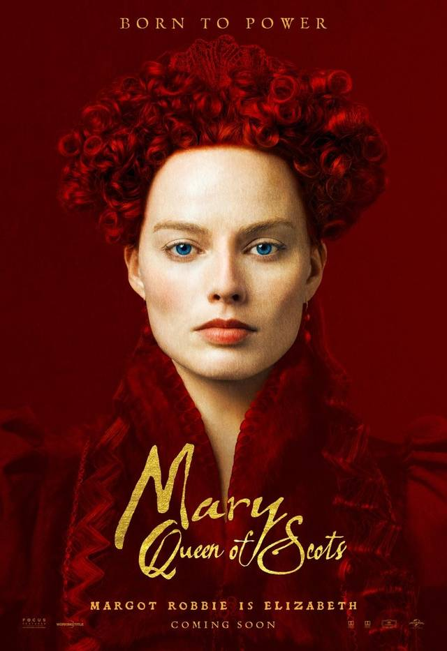 Mary Queen of Scots Teaser Character Poster UK 2