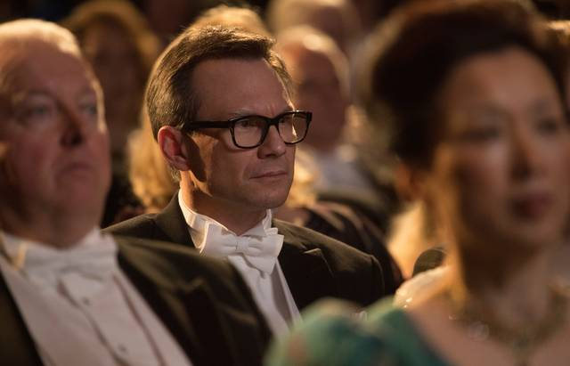 The Wife - Vivere nell'ombra Christian Slater foto dal film 2